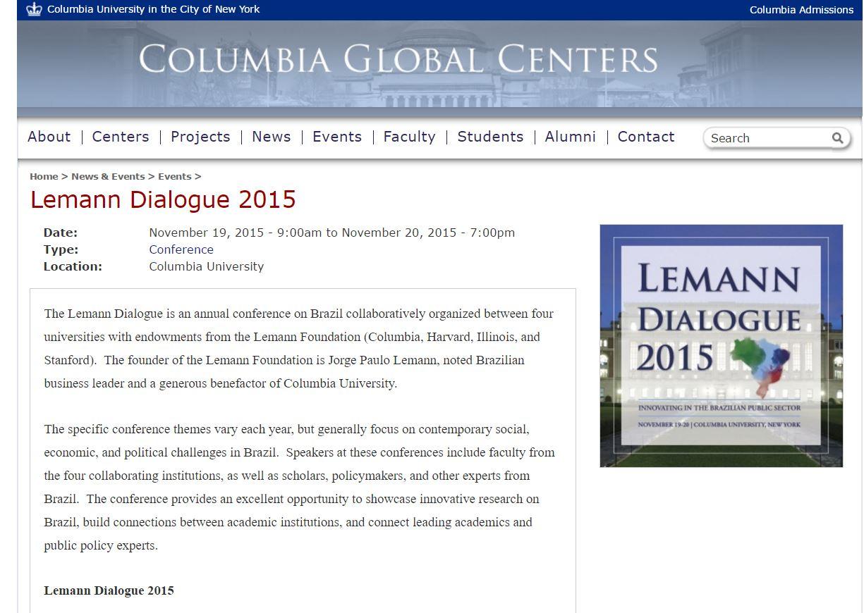 Columbia University Dating site Web